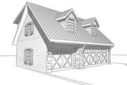 Traditional Style House Plan - 0 Beds 0 Baths 423 Sq/Ft Plan #123-107 Exterior - Other Elevation