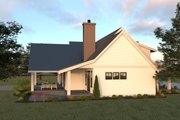 Farmhouse Style House Plan - 4 Beds 2.5 Baths 2878 Sq/Ft Plan #1070-19 Exterior - Other Elevation