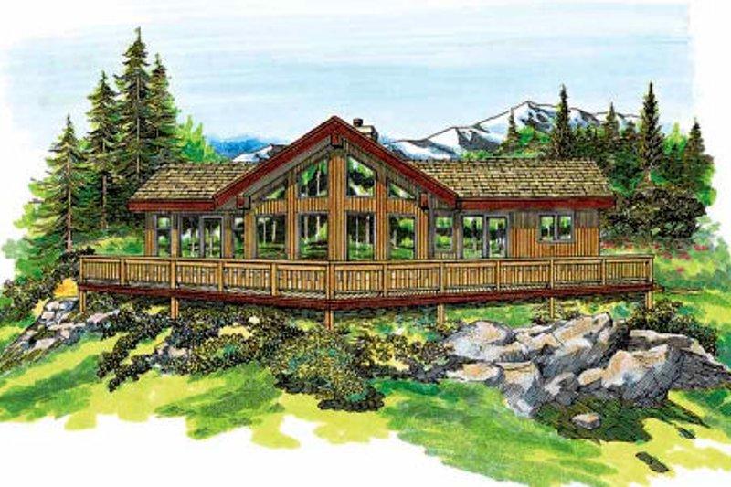 House Plan Design - Contemporary Exterior - Front Elevation Plan #47-315