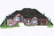 Home Plan - Traditional Exterior - Front Elevation Plan #5-321