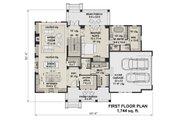 Farmhouse Style House Plan - 3 Beds 2.5 Baths 2467 Sq/Ft Plan #51-1152 Floor Plan - Main Floor Plan