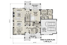 Farmhouse Floor Plan - Main Floor Plan Plan #51-1152