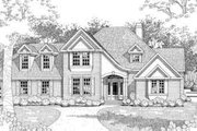 Farmhouse Style House Plan - 3 Beds 3 Baths 2031 Sq/Ft Plan #120-135 Exterior - Front Elevation