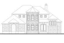 Dream House Plan - European Exterior - Front Elevation Plan #80-168