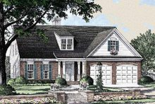 Traditional Exterior - Front Elevation Plan #137-196