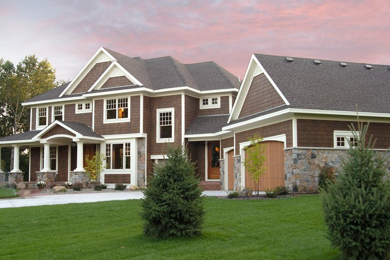 Craftsman Style House Plan - 5 Beds 4.5 Baths 4972 Sq/Ft Plan #51-576