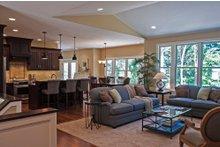House Plan Design - Ranch Interior - Family Room Plan #928-2
