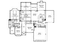 European Floor Plan - Main Floor Plan Plan #927-31