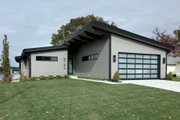 Contemporary Style House Plan - 3 Beds 2 Baths 2011 Sq/Ft Plan #928-345 Exterior - Front Elevation