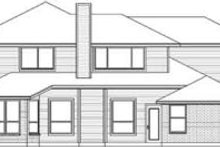 Home Plan - European Exterior - Rear Elevation Plan #84-186