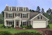 Southern Style House Plan - 3 Beds 2.5 Baths 1695 Sq/Ft Plan #56-233 Exterior - Front Elevation