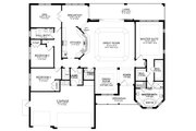 Ranch Style House Plan - 3 Beds 2.5 Baths 2477 Sq/Ft Plan #1058-197 Floor Plan - Main Floor