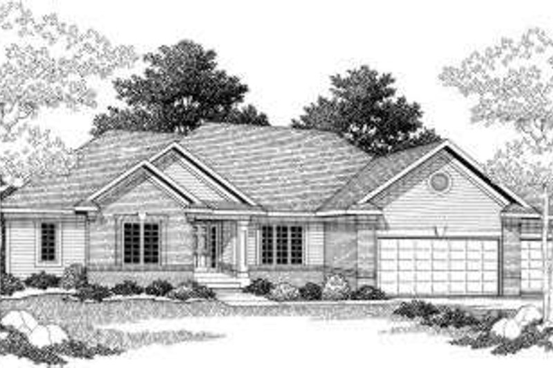 European Exterior - Front Elevation Plan #70-782 - Houseplans.com