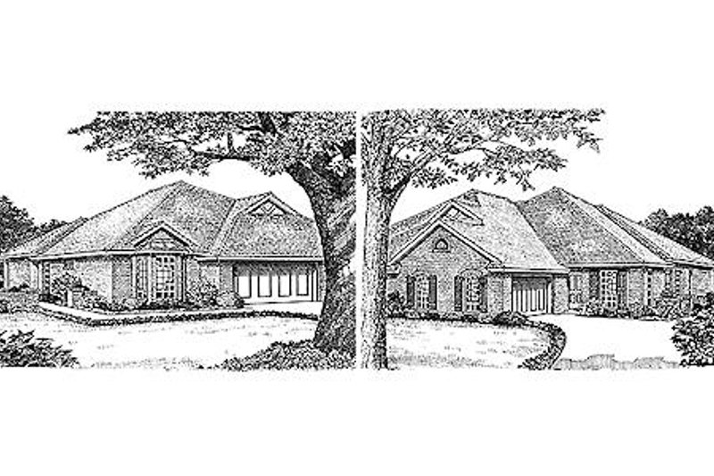 Traditional Exterior - Front Elevation Plan #310-474