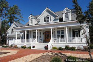 Country Exterior - Front Elevation Plan #929-699