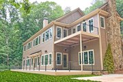 Craftsman Style House Plan - 4 Beds 3.5 Baths 5256 Sq/Ft Plan #437-121 Exterior - Rear Elevation