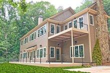Dream House Plan - Craftsman Exterior - Rear Elevation Plan #437-121