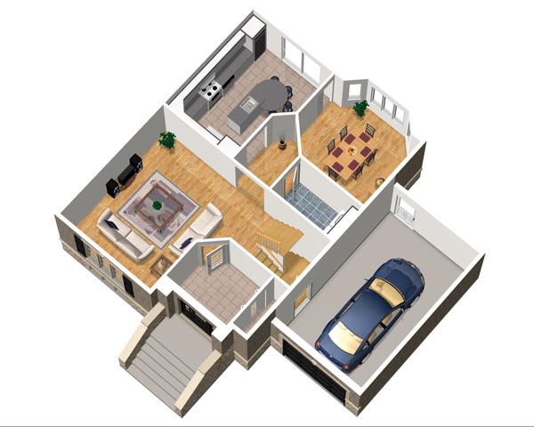 European Floor Plan - Main Floor Plan Plan #25-4712