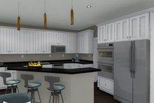 Ranch Interior - Kitchen Plan #1060-2