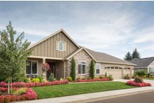 Dream House Plan - Craftsman Exterior - Front Elevation Plan #48-292