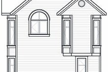 House Design - Traditional Exterior - Rear Elevation Plan #23-874