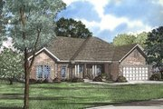 Traditional Style House Plan - 4 Beds 2 Baths 2148 Sq/Ft Plan #17-154 Exterior - Front Elevation