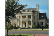 Classical Style House Plan - 5 Beds 5 Baths 6570 Sq/Ft Plan #429-47 Exterior - Other Elevation
