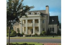 Home Plan - Classical Exterior - Other Elevation Plan #429-47