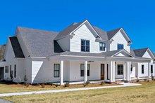 Dream House Plan - Farmhouse Exterior - Other Elevation Plan #63-430