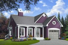 Dream House Plan - Country Exterior - Front Elevation Plan #23-785