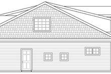 House Plan Design - Craftsman Exterior - Other Elevation Plan #124-890