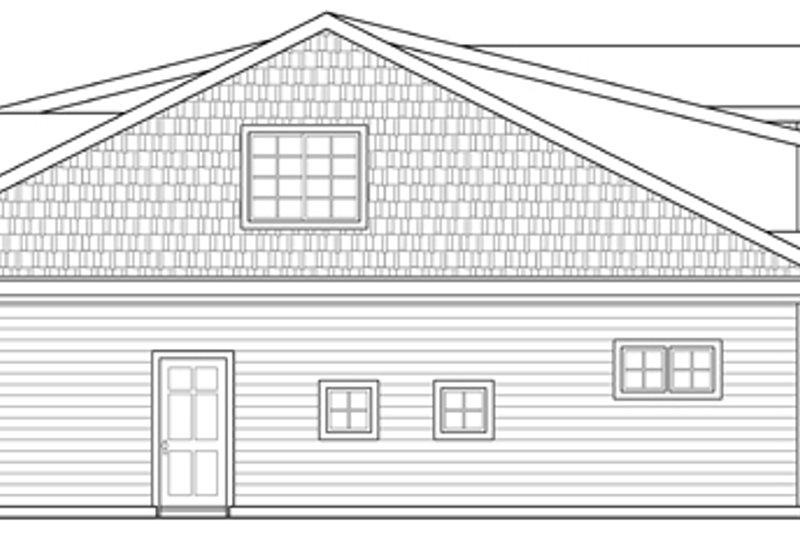 Craftsman Exterior - Other Elevation Plan #124-890 - Houseplans.com