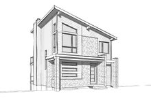 House Plan Design - Contemporary Exterior - Front Elevation Plan #23-2660