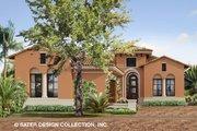 Mediterranean Style House Plan - 3 Beds 3.5 Baths 2709 Sq/Ft Plan #930-488