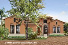 House Plan Design - Mediterranean Exterior - Front Elevation Plan #930-488