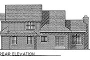 Traditional Style House Plan - 3 Beds 2.5 Baths 1883 Sq/Ft Plan #70-228 Exterior - Rear Elevation