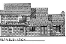 Dream House Plan - Traditional Exterior - Rear Elevation Plan #70-228