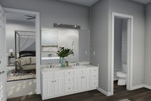 Dream House Plan - European Interior - Master Bathroom Plan #1060-75