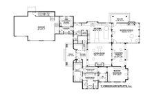 Farmhouse Floor Plan - Main Floor Plan Plan #928-10