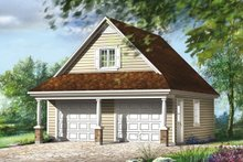 House Design - Traditional Exterior - Front Elevation Plan #25-4872
