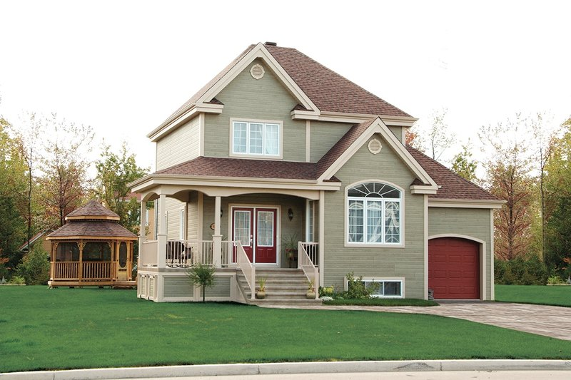 Dream House Plan - Country Exterior - Front Elevation Plan #23-482