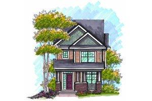 Craftsman Exterior - Front Elevation Plan #70-965