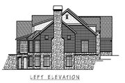 European Style House Plan - 5 Beds 5.5 Baths 7092 Sq/Ft Plan #458-14 Exterior - Other Elevation