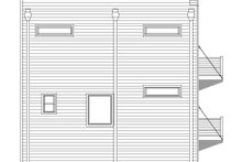 Architectural House Design - Contemporary Exterior - Other Elevation Plan #932-127
