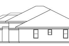 Home Plan - Mediterranean Exterior - Other Elevation Plan #124-751