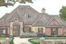 Architectural House Design - European Exterior - Front Elevation Plan #310-277