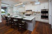Mediterranean Style House Plan - 4 Beds 4.5 Baths 3682 Sq/Ft Plan #930-481 Interior - Kitchen