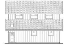 House Plan Design - Farmhouse Exterior - Other Elevation Plan #124-865