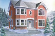 Traditional Style House Plan - 4 Beds 2.5 Baths 1847 Sq/Ft Plan #23-270 Exterior - Front Elevation