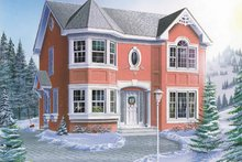 House Plan Design - Traditional Exterior - Front Elevation Plan #23-270